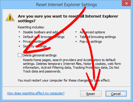 ie-reset-window Blasearch.com entfernen