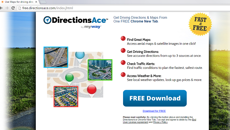 DirectionsAce Toolbar-