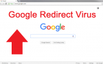 Google-Redirect-Virus-removal