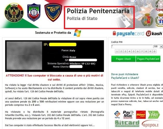 Polizia-Penitenziaria-malware