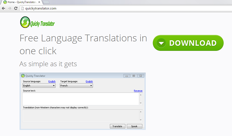Quicky Translator-