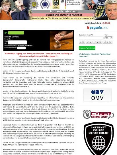 Bundesnachrichtendienst Virus-