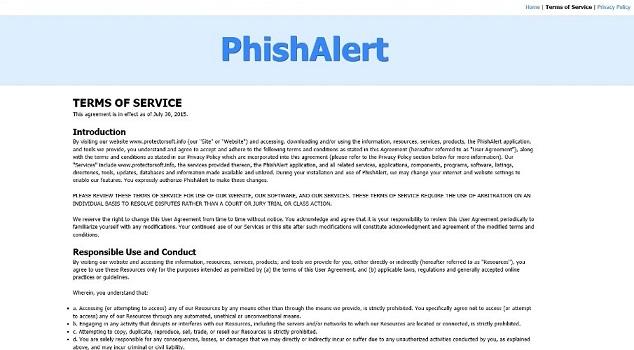 PhishAlert-