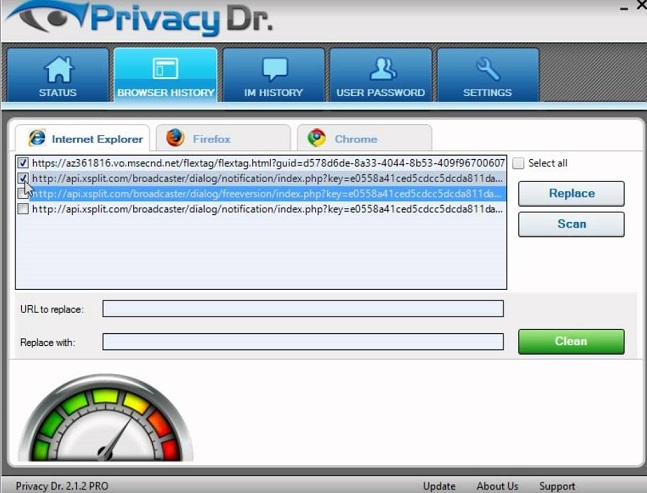 Privacy Dr Virus-