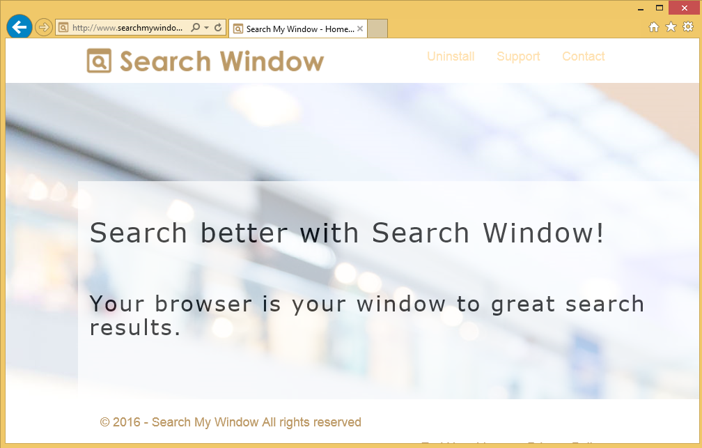 Search My Window Ads
