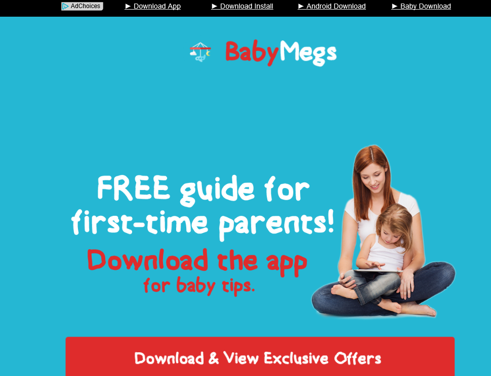 BabyMegs ads