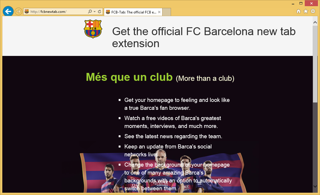 FCB New Tab