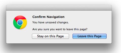 confirm navigation-