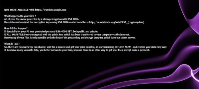 BlackShades Crypter Ransomware-