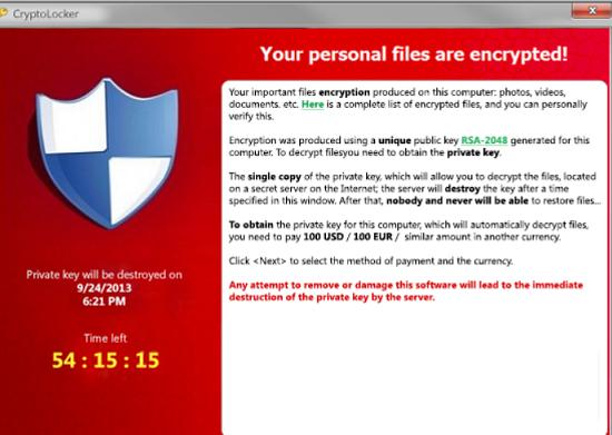 GhostCrypt Ransomware-virus