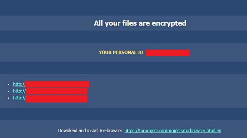 Cryp1 Ransomware-