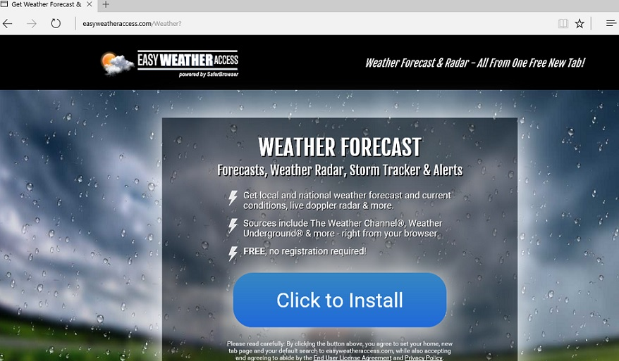 Easy Weather Access virus-