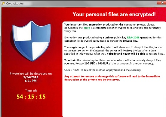 Protected Ransomware-