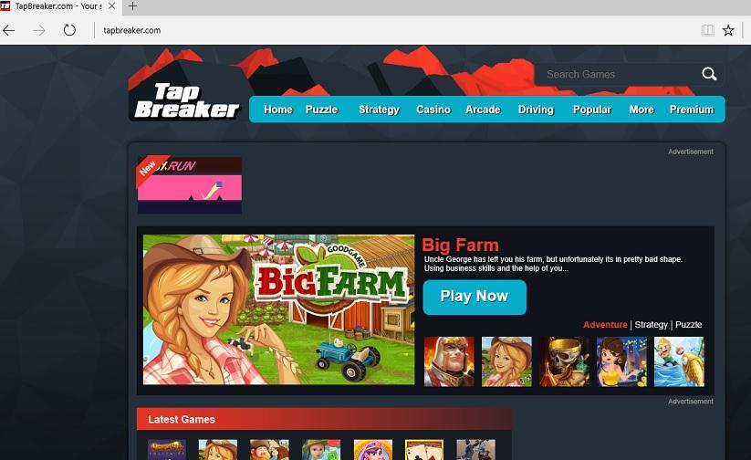 TapBreaker ads-