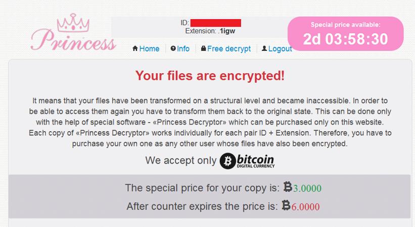 princess-ransomware-