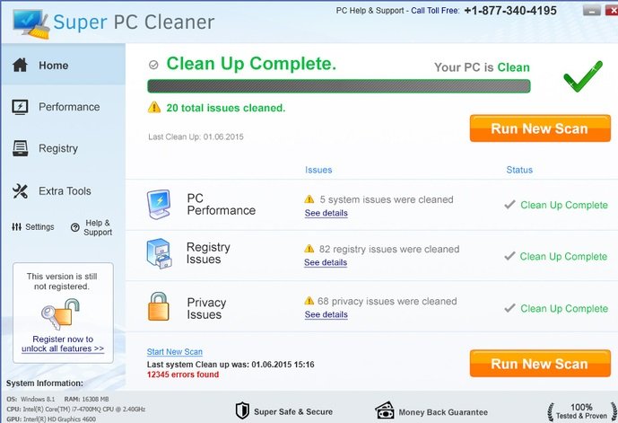Super PC Cleanup-