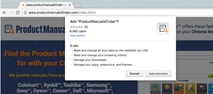 productmanualsfinder-toolbar-