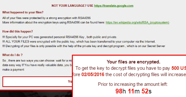 Bad News Ransomware-