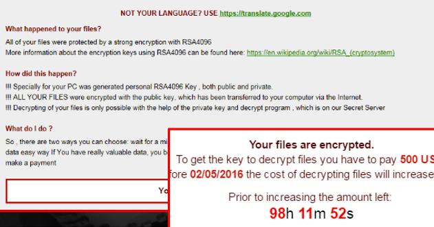 Bad News Ransomware-