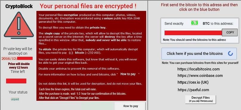 Crypto1CoinBlocker-ransomware-removal