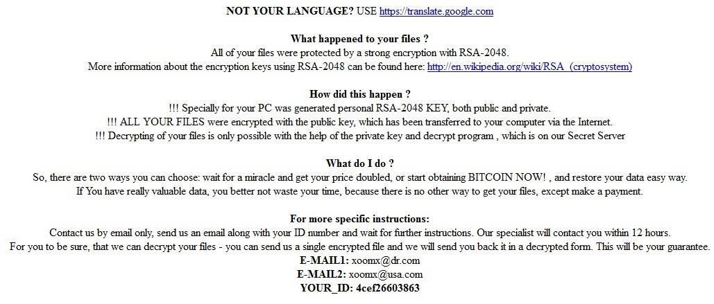 CryptoMix-Ransomware-uninstall
