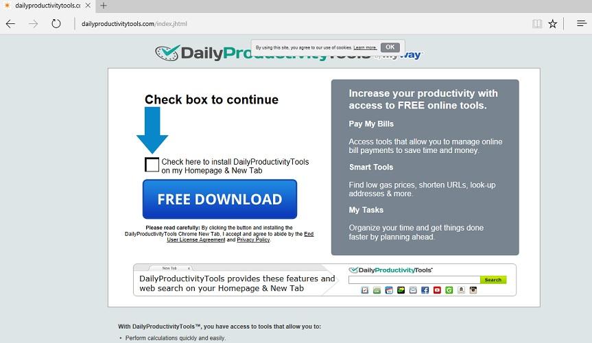 DailyProductivityTools Toolbar-