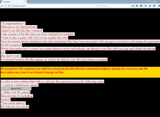 RanRan ransomware-removal