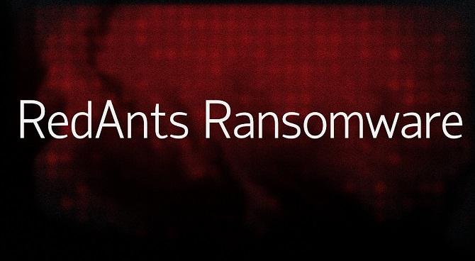 RedAnts ransomware-
