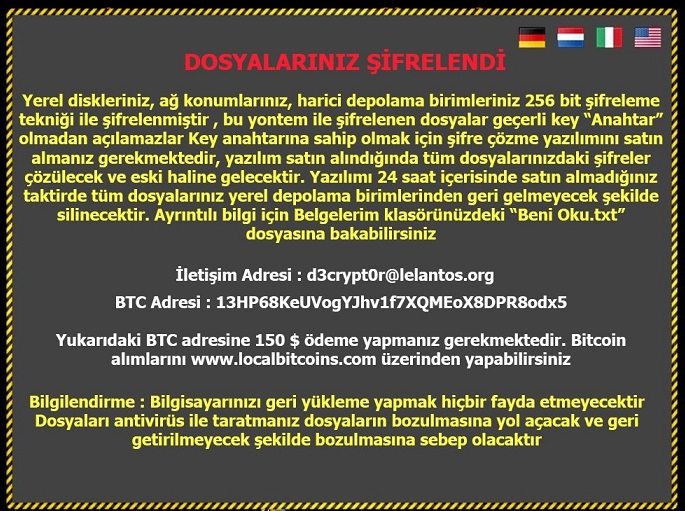 Turkish FileEncryptor ransomware-removal