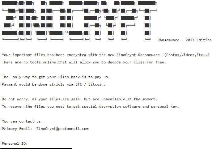 ZinoCrypt-ransomware-virus