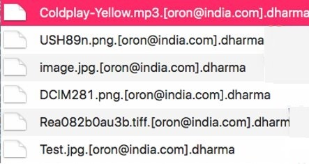 oron@india.com ransomware-