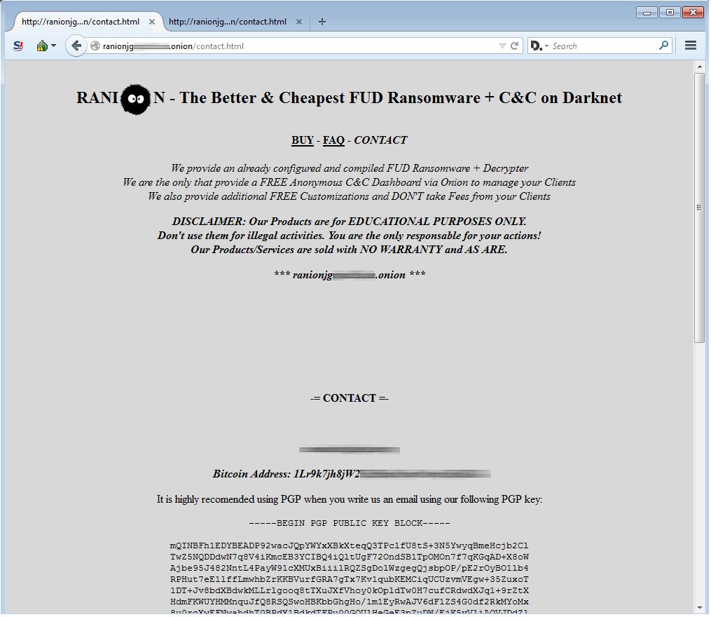 Ranion Ransomware