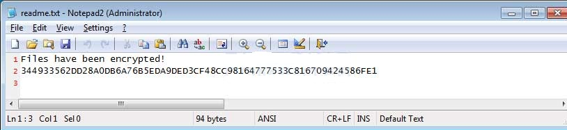 HTRS ransomware-