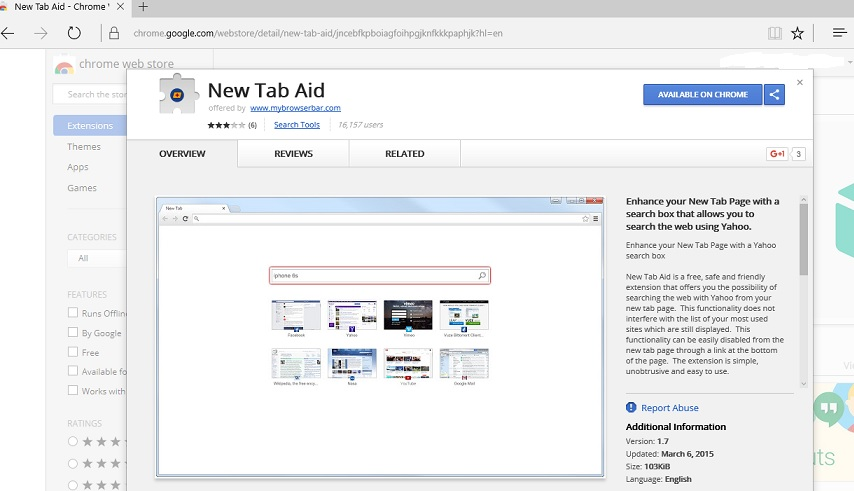 New Tab Aid plugin-