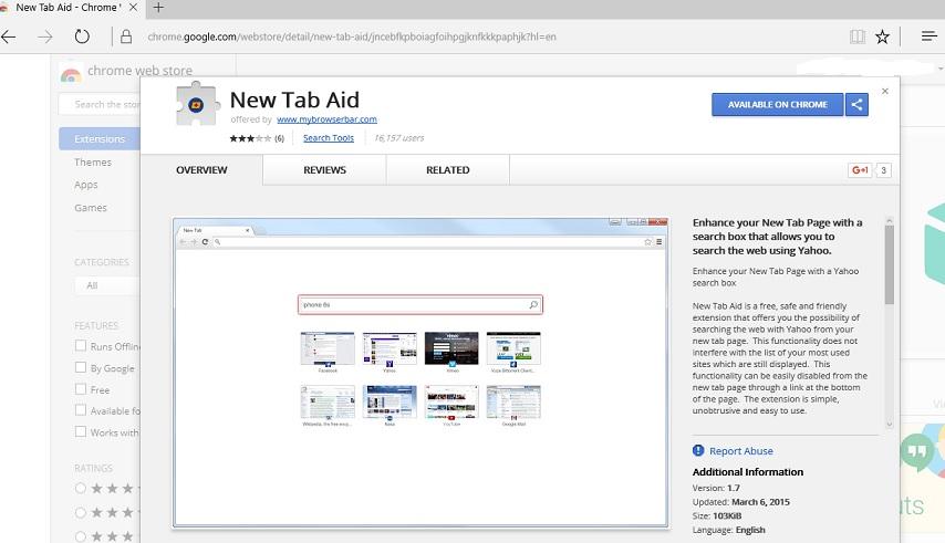 New Tab Aid plugin-