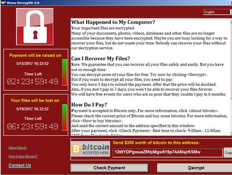 Wana Decrypt0r ransomware-virus