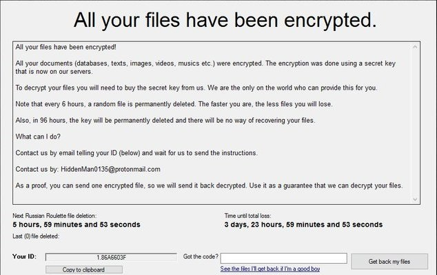 Zelta Free ransomware-removal