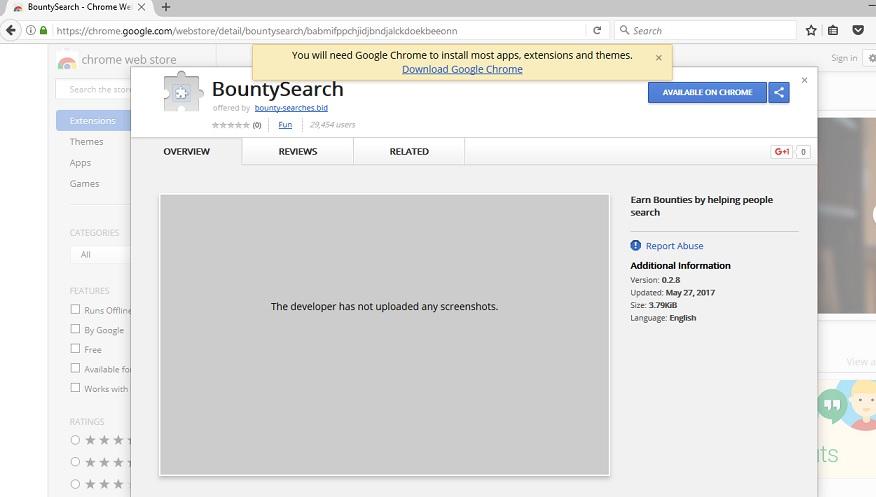 Bountysearch-