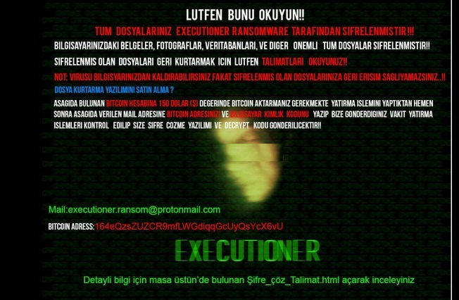 Executioner-ransomware-virus