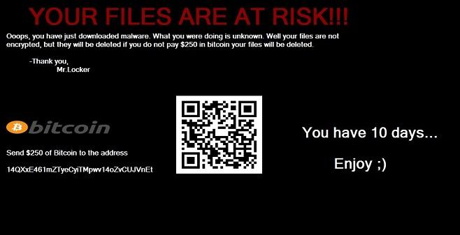 MrLocker ransomware-