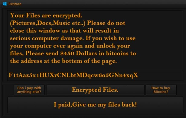 R3store ransomware-