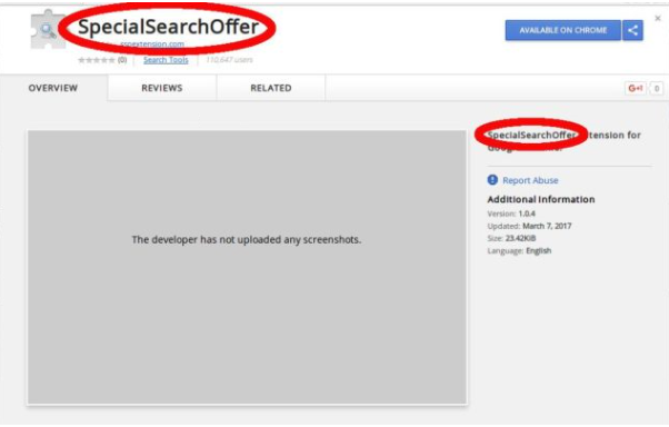SpecialSearchOffer Search
