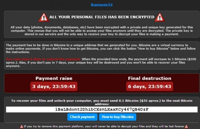 RaaSberry ransomware-removal