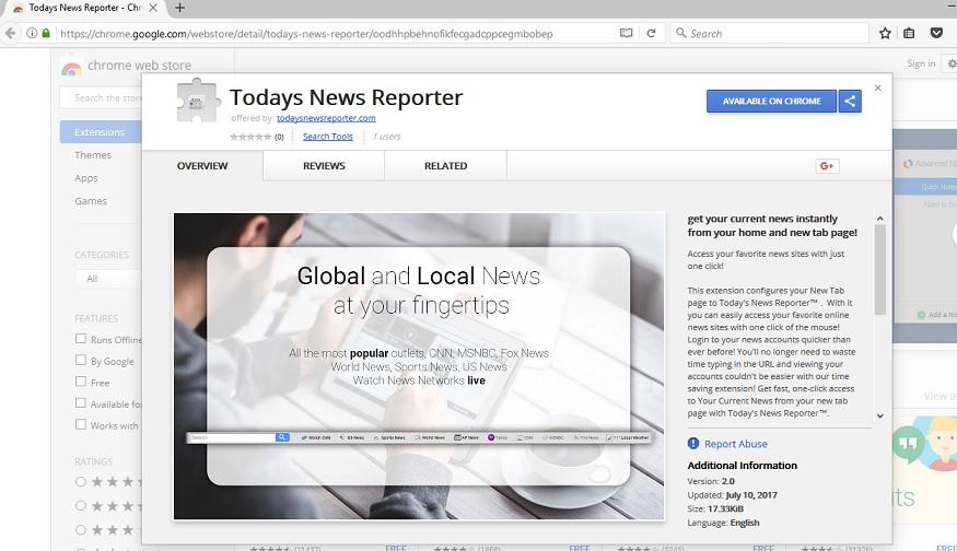 Todays News Reporter-