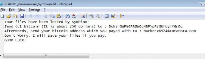 symbiom-ransomware