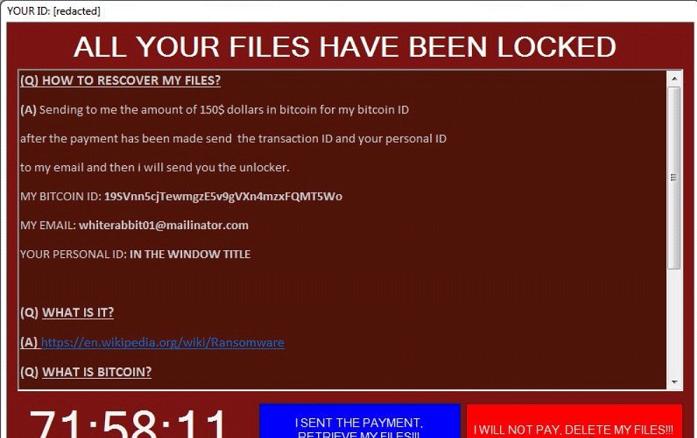Fenrir Ransomware-
