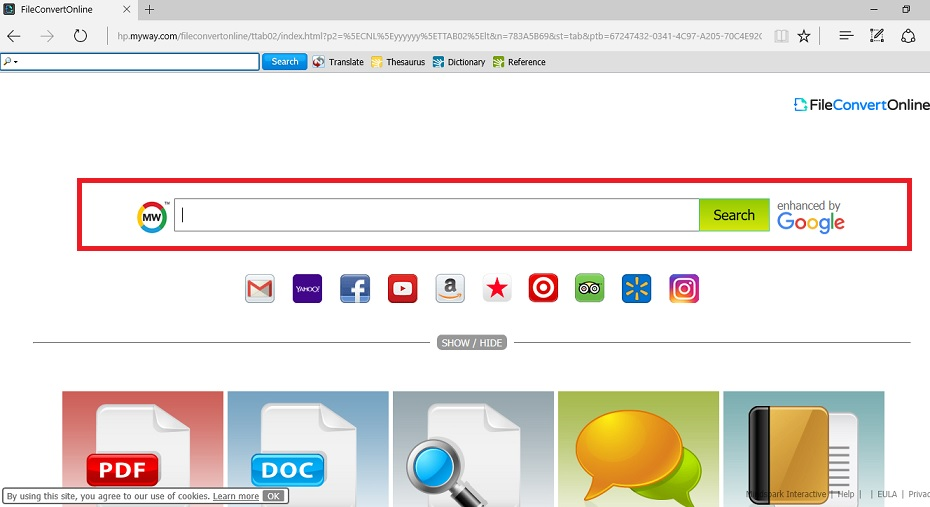 FileConvertOnline Toolbar-