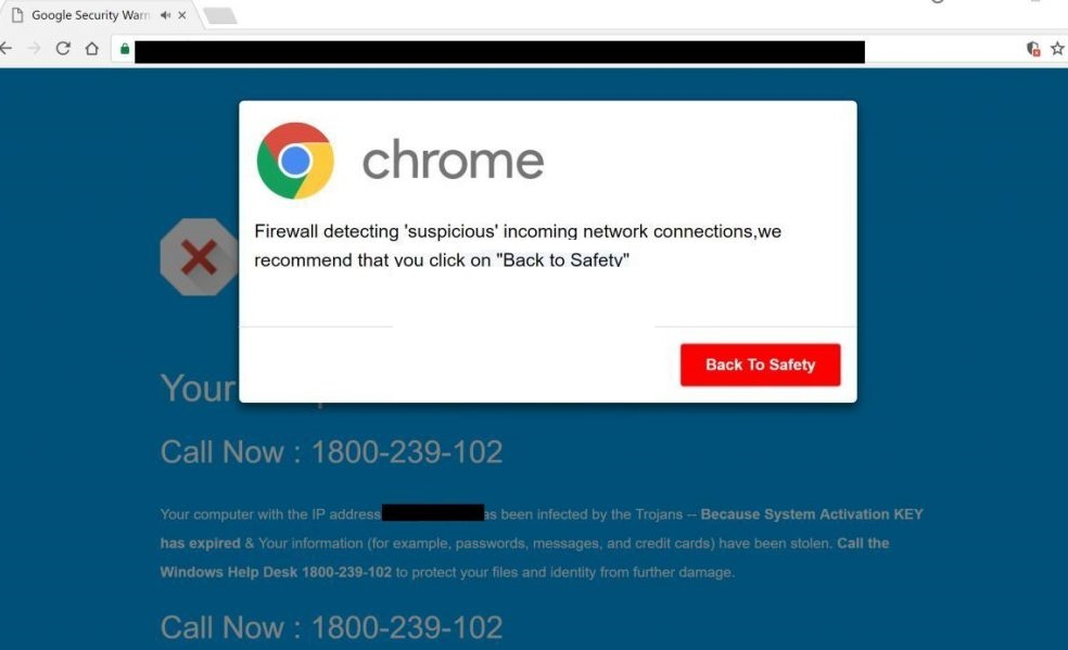 Firewall Detecting Suspicious Incoming Network Connections Scam--