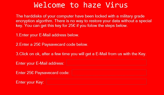 Haze-ransomware-removal