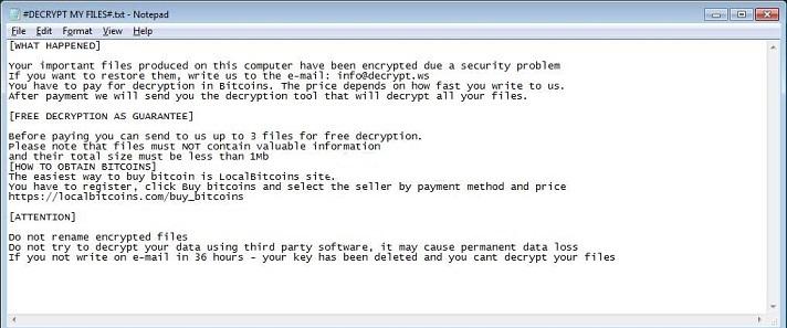 Paradise-ransomware-